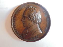 FRERE-ORBAN MINISTRE DES FINANCES - 1851 Par JOUVENEL 55 Grammes-50 Mm - Professionals / Firms