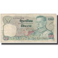 Billet, Thaïlande, 20 Baht, KM:88, B+ - Thaïlande