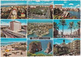 Gf. BEYROUTH MODERNE. 9 Vues - Liban