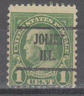 USA Precancel Vorausentwertung Preo, Locals Illinois, Joliet 632-225 - Vereinigte Staaten