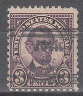 USA Precancel Vorausentwertung Preo, Locals Illinois, Joliet 635-631 - Vereinigte Staaten