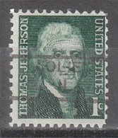 USA Precancel Vorausentwertung Preo, Locals Illinois, Joliet 852 - Vereinigte Staaten
