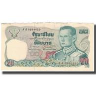 Billet, Thaïlande, 20 Baht, KM:88, TB - Thaïlande