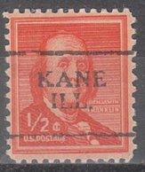 USA Precancel Vorausentwertung Preo, Locals Illinois, Kane 701 - Vereinigte Staaten