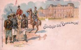Roumanie - Suvenir Din Bucuresci - Palatul Regal - Roumanie