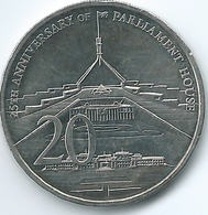 Australia - Elizabeth II - 20 Cents - 2013 - 25th Anniversary Of Parliament House - KM1966 - Monnaie Décimale (1966-...)
