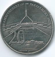 Australia - Elizabeth II - 20 Cents - 2013 - 25th Anniversary Of Parliament House - KM1966 - Decimal Coinage (1966-...)