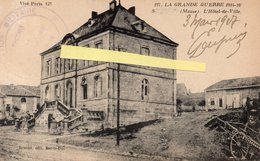 MEUSE GUERRE 1914 1918 HOTEL DE VILLE DE ? - France