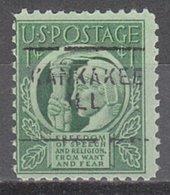 USA Precancel Vorausentwertung Preo, Locals Illinois, Kankakee 703 - Vereinigte Staaten