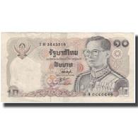 Billet, Thaïlande, 10 Baht, KM:87, TTB - Thaïlande