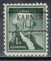 USA Precancel Vorausentwertung Preo, Locals Illinois, Karnak 729 - Vereinigte Staaten