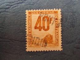 """1944-47 Petits Colis Postaux - Timbre Oblitéré   N°  14   """"   40f   Orange""""       1 Euro - Colis Postaux"""
