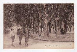 - CPA AUBAGNE (13) - Cours Voltaire (avec Personnages) - - Aubagne