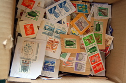 World With Majority Europe - 800g Definitive Stamps On Paper - (3000 To 4000 Stamps Used) - Stamps
