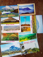 10 Different Postcards    Mountains  And Volcanoes - Philippinen