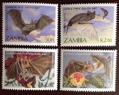 Zambia 1989 Bats MNH - Chauve-souris
