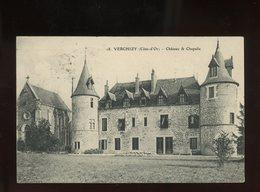 CPA - 21 - VERCHIZY - CHATEAU ET CHAPELLE - France