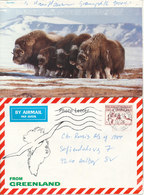 Greenland Photoletter Sent To Denmark Holsteinsborg 22-12-1986 - Greenland
