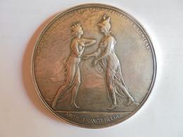 AMITIE FRANCO-BELGE-1948 à ANGLEUR-LEZ-LIEGE Par DEVREESE-162 Grammes-72 Mm - Professionals / Firms