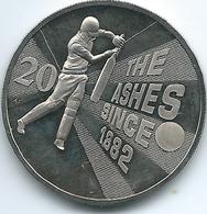 Australia - Elizabeth II - 20 Cents - 2013 - Ashes Cricket - KM2144 - Monnaie Décimale (1966-...)
