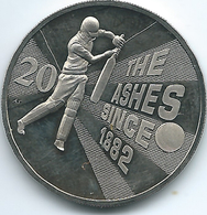 Australia - Elizabeth II - 20 Cents - 2013 - Ashes Cricket - KM2144 - Decimal Coinage (1966-...)