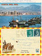 Spain Photoletter Sent To Denmark Fuengirola Costa Del Sol 12-4-1982 - 1931-Aujourd'hui: II. République - ....Juan Carlos I
