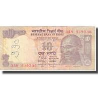 Billet, Inde, 10 Rupees, KM:95d, TB - Inde