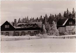 Altenberg (Erzgebirge) Erich-Weinert-Heim, Winterlandschaft 1962  - Altenberg