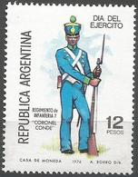 Argentina - 1976 Army Day  MNH **   Sc 1133 - Argentina