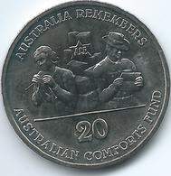 Australia - Elizabeth II - 20 Cents - 2014 - Australian Comforts Fund - Only30,000 Minted - Decimal Coinage (1966-...)