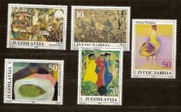 Yougoslavie Joegoslavie 1985 Yvertn° 2010-14 *** MNH Cote 3,50 Euro - 1945-1992 République Fédérative Populaire De Yougoslavie