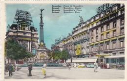 CARTOLINA - POSTCARD - BELGIO -  BRUXELLES - PLACE DE BROUCKERE - Monumenti, Edifici