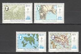 W364 HONG KONG GEOGRAPHY MAPS !!! MICHEL 22 EURO !!! 1SET MNH - Geography