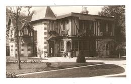 PHOTO ORIGINALE AOUT 1932 - CABOURG VILLA SENECOL'S Ou LENECOL'S (VOIR DOS) - CALVADOS (14) - Lugares
