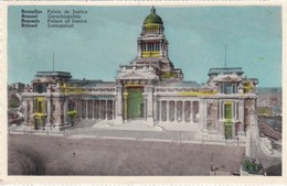 CARTOLINA - POSTCARD - BELGIO -  BRUXELLES - PLACE DE JUSTICE - Monumenti, Edifici