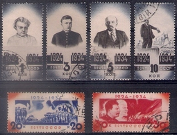 Russia 1934, Michel Nr 488-93, Used - Used Stamps