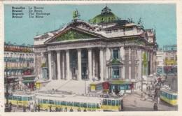 CARTOLINA - POSTCARD - BELGIO -  BRUXELLES - LA BOURSE - Monumenti, Edifici