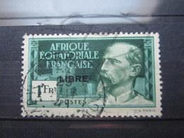 "VEND BEAU TIMBRE D ' A.E.F. N° 116 , OBLITERATION "" MOSSAKA "" !!! - A.E.F. (1936-1958)"