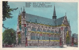 CARTOLINA - POSTCARD - BELGIO -  BRUXELLES - EGLISE N.D. DES VICTOIRES - Monumenti, Edifici