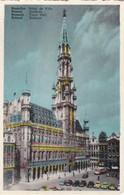 CARTOLINA - POSTCARD - BELGIO -  BRUXELLES - HOTEL DE VILLE - Monumenti, Edifici