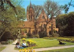 CPM - DELFT - Prinsenhof Met Op Achtergrond Toren Van Oude Kerk (13e Eeuw) - Delft