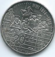 Australia - Elizabeth II - 20 Cents - 2015 - Australia Remembers WWI - UNC - Decimal Coinage (1966-...)
