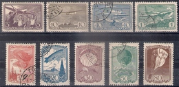 Russia 1938, Michel Nr 637-45, Used - Used Stamps