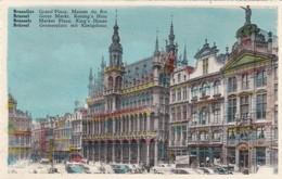 CARTOLINA - POSTCARD - BELGIO -  BRUXELLES - GRAND' PLACE MAISON DU ROI - Monumenti, Edifici