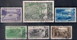 Russia 1949, Michel Nr 1385-90, Used - 1923-1991 URSS