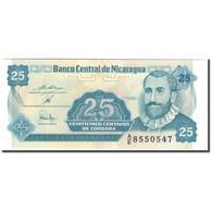 Billet, Nicaragua, 25 Centavos, KM:170a, NEUF - Nicaragua
