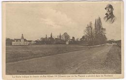 Boninne - Rote De Hannut - Albert 1 - Chemin Ou Il A Pénétré Dans Les Rochers - Ongelopen Kaart Ed. Vranken - Namur