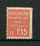 COLIS POSTAUX 1939 N° 164 Neuf ** MNH TB Cote 3 € - Colis Postaux