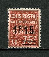 COLIS POSTAUX 1938 N° 150 ** Neuf MNH Superbe Cote 3 € - Colis Postaux