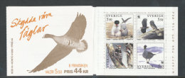 SUEDE 1994 - CARNET  YT C1829 - Facit H452 - Neuf ** MNH - Protection Des Oiseaux, WWF - Carnets